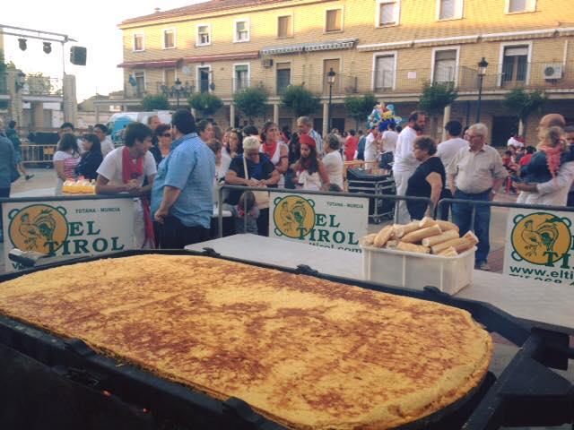 Tortilla Española Gigante